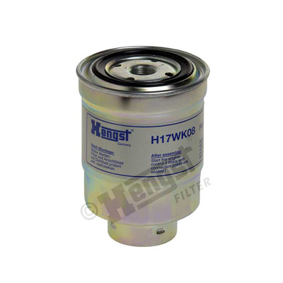 Polttoainesuodatin HENGST FILTER H17WK08