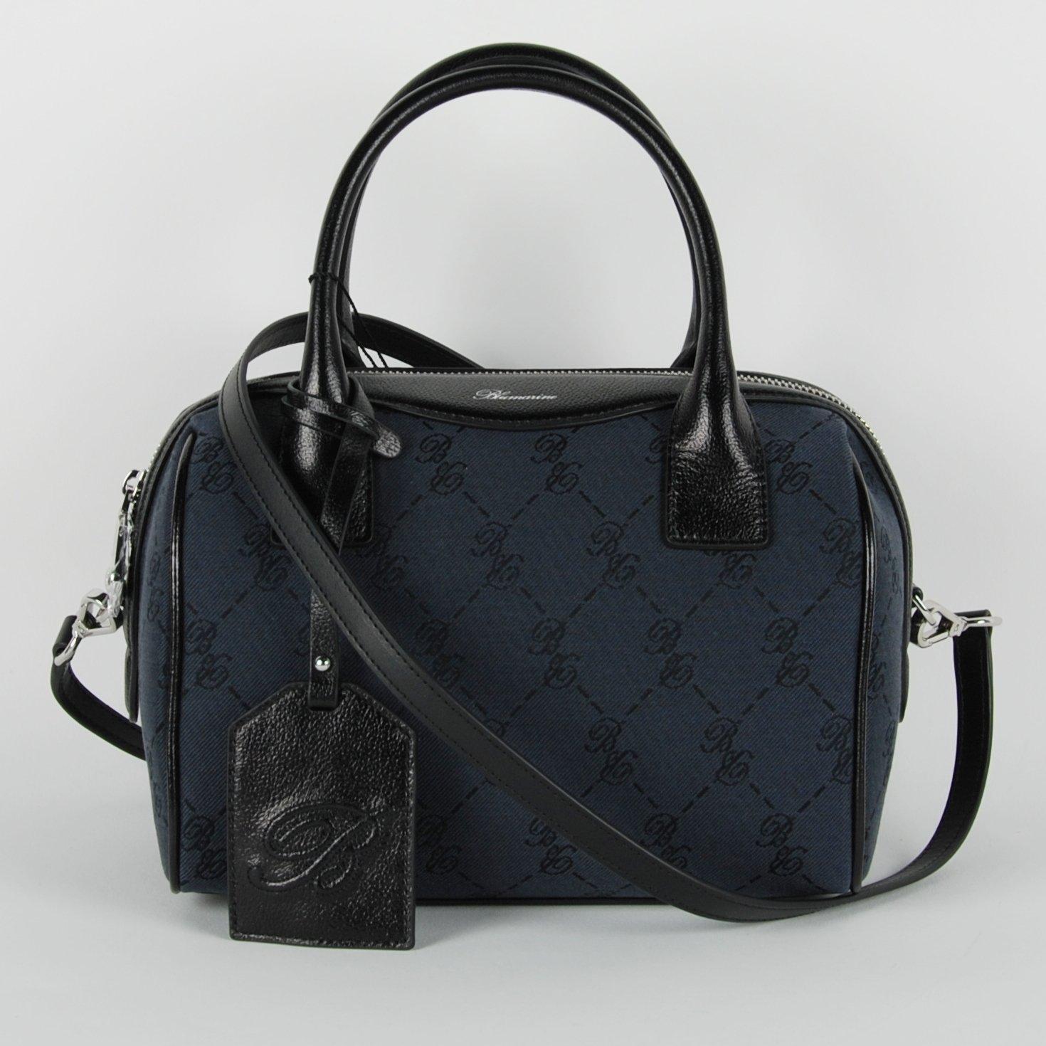 Blumarine Women's Bowling Bag Black BL1421465