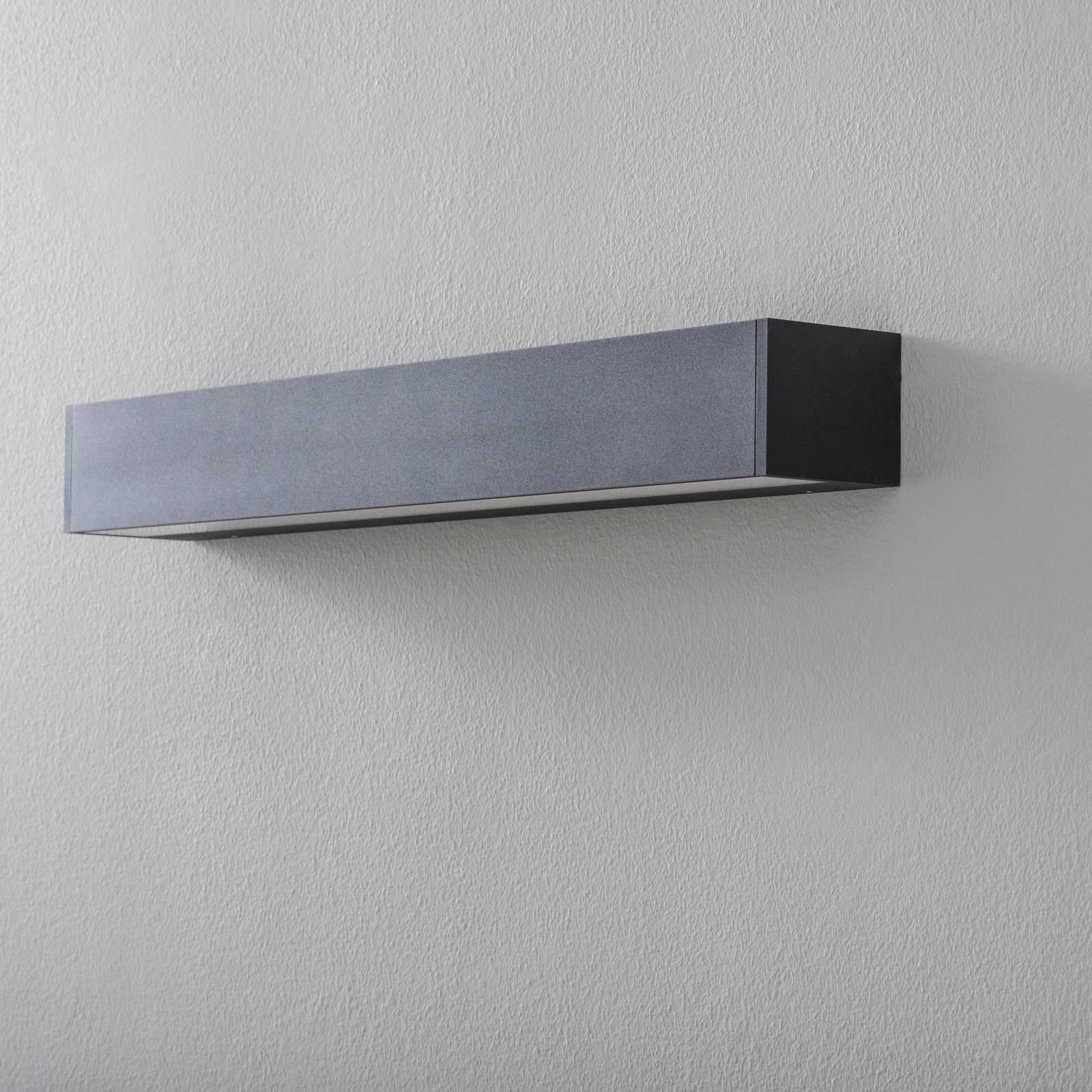 BEGA 50800 LED-seinälamppu 930 musta 62cm 3 760lm