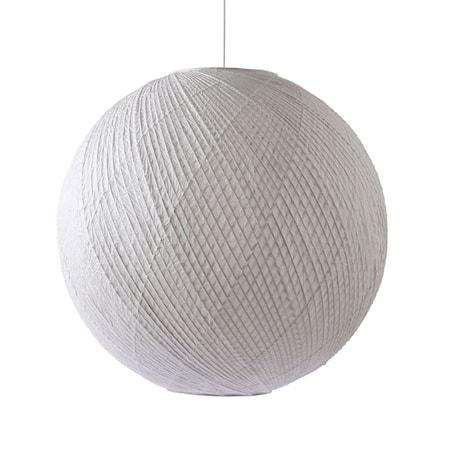 Bamboo/paper ball Pendel Vit