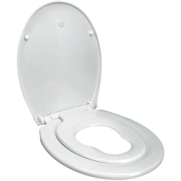 Arrow DuoSeat WC-sete med ekstrasete for barn