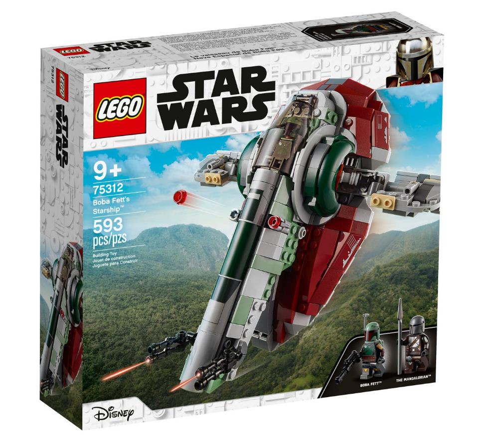LEGO Star Wars - Boba Fett's spaceship (75312)