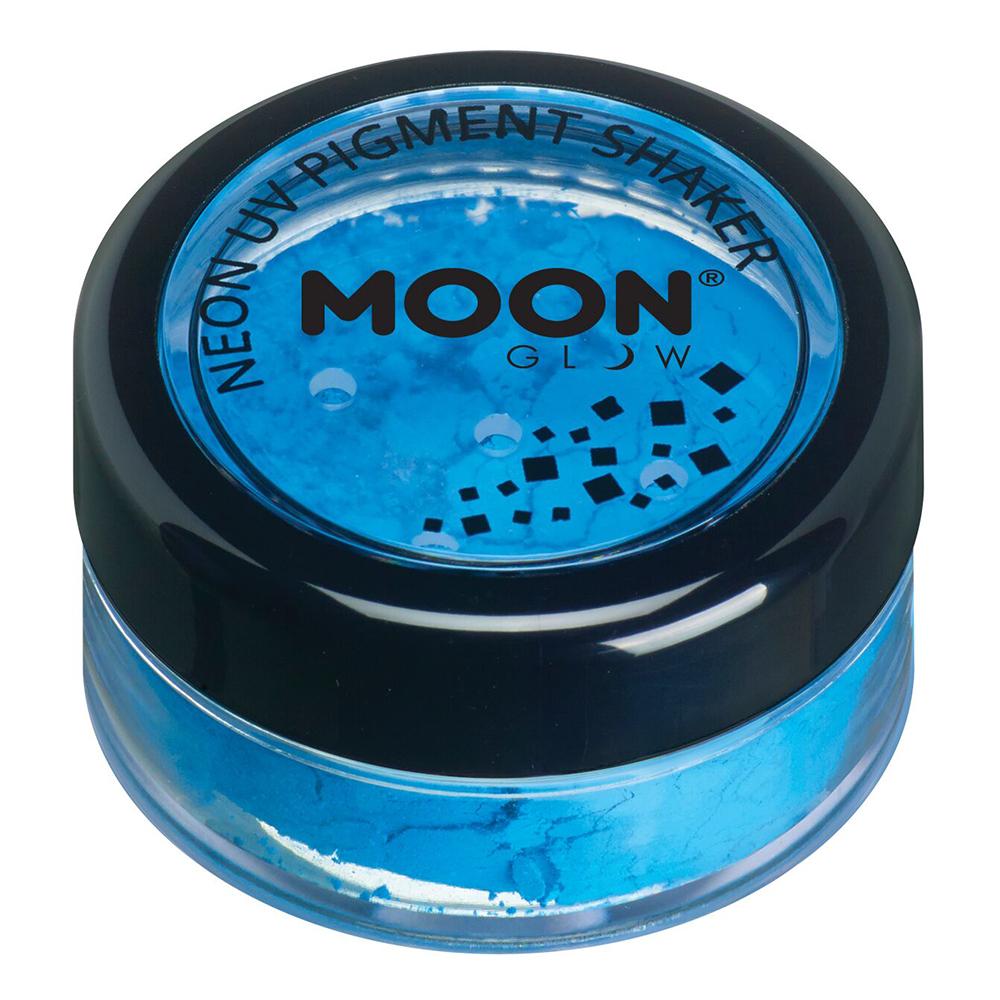 Moon Creations UV Neon Pigment Shaker - Blå
