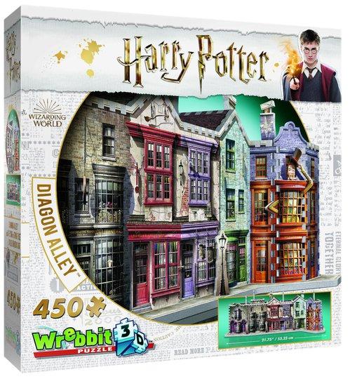 Harry Potter 3D-puslespill Diagonallmenningen 450 biter