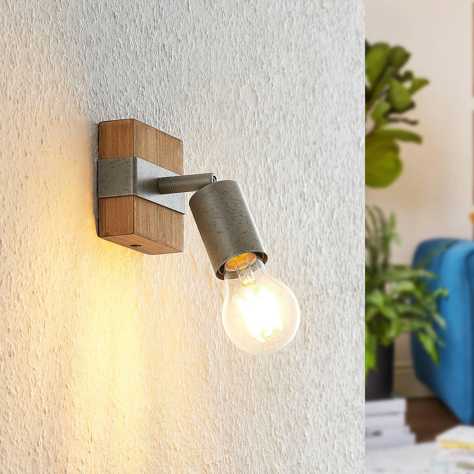 Lindby Quitana -kattospotti yksilamppuinen