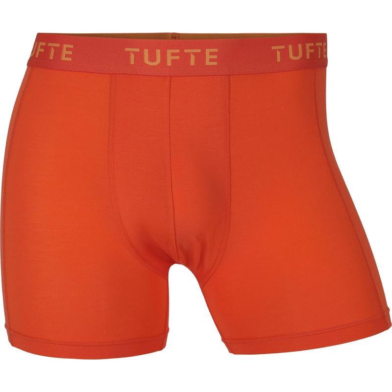 Tufte Essentials Boxer Briefs S Boxer - Herre, Blazing Orange
