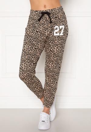 Happy Holly Carolyn pants White / Leopard / Black 52/54