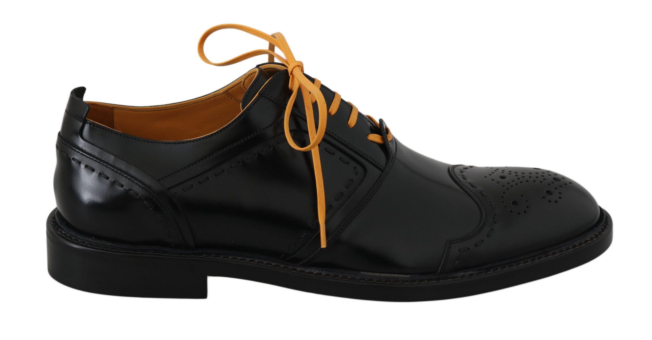 Dolce & Gabbana Men's Shoes Black MV2314 - EU39.5/US6.5
