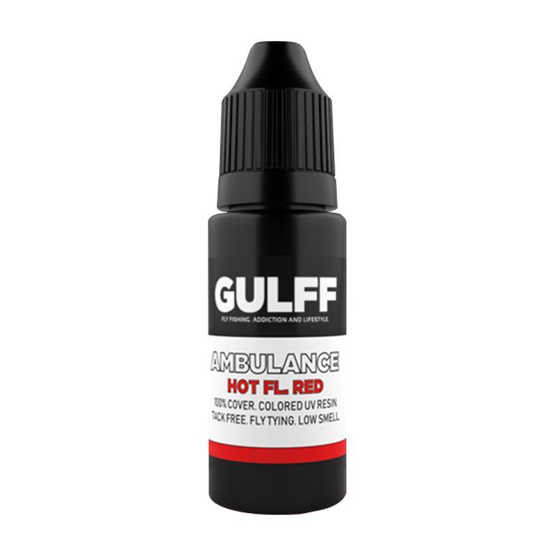Gulff Ambulance UV 15ml Fluo Red