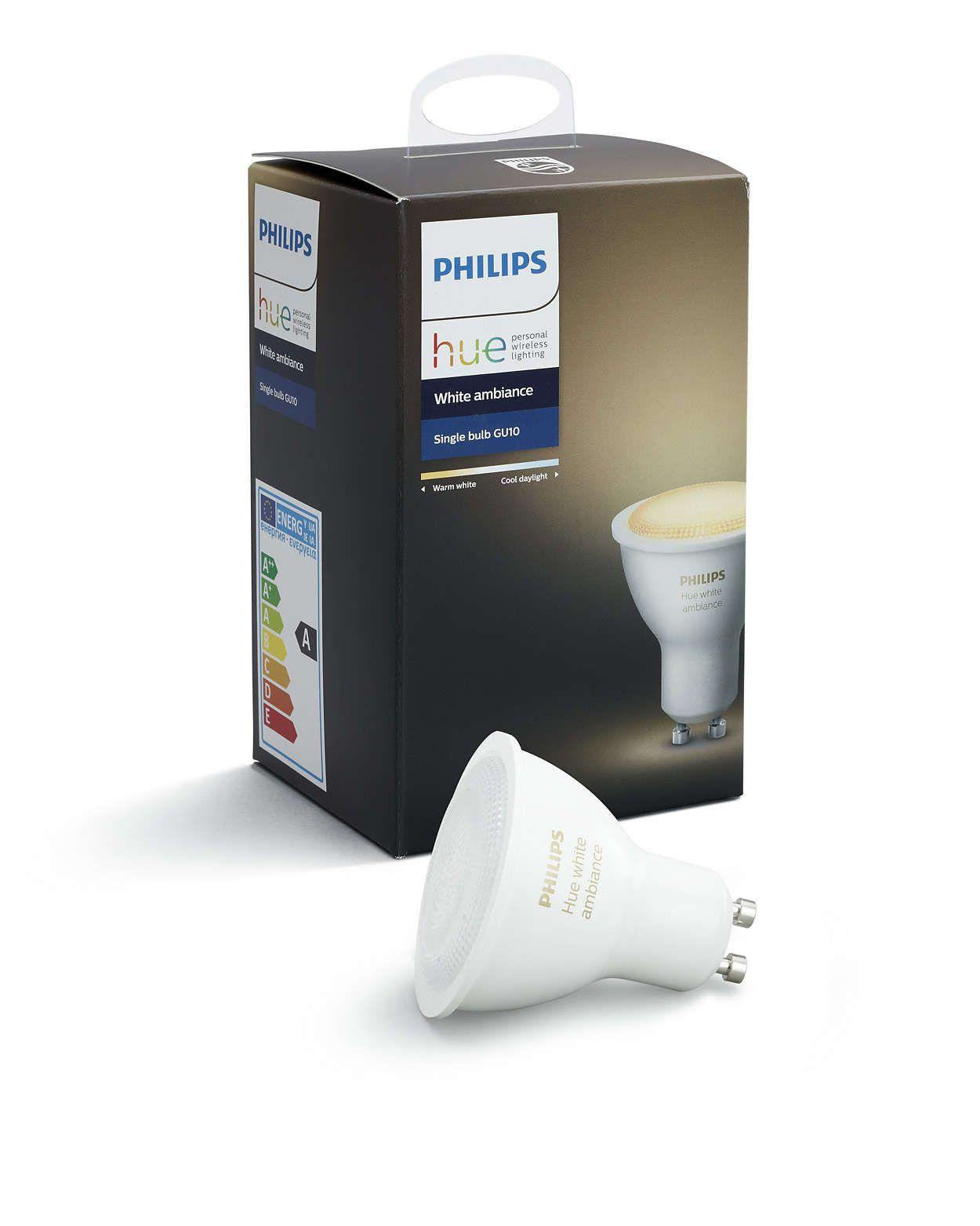 Philips Hue - GU10 - White Ambiance - Bluetooth
