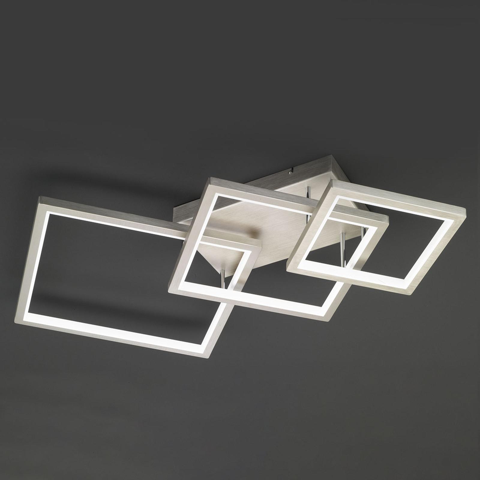 Himmennys seinäkytkimellä - LED-kattovalaisin Viso