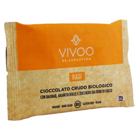 Råchokladkaka Baobab & Apelsin 30g - 50% rabatt