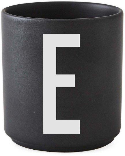 DL Kopp Porselen E, Svart