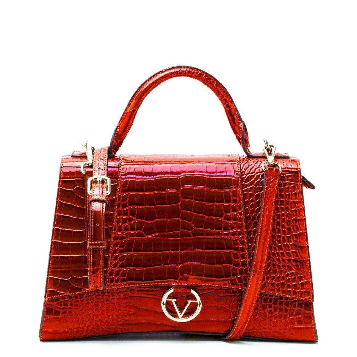19v69 Italia Women's Handbag Various Colours 319022 - red UNICA
