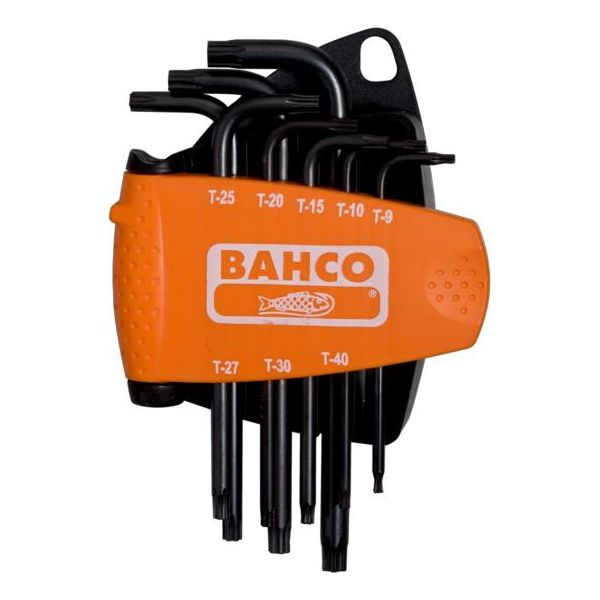 Bahco BE-7675 Torxnøkkelsett TORX Plus, 8 deler