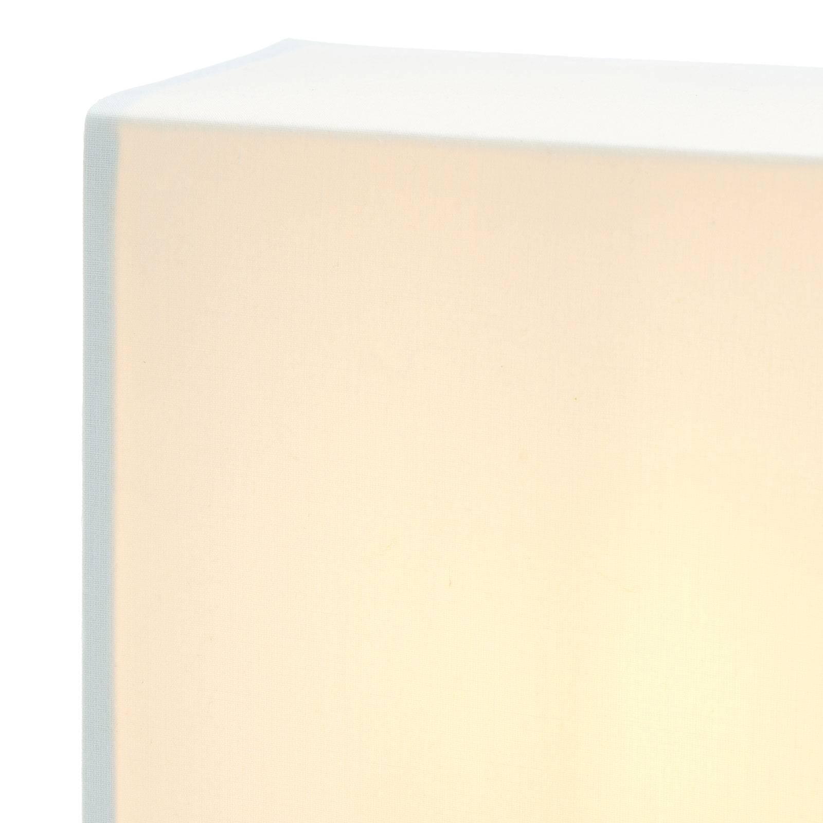 Lucande Patrik -seinävalo kulmikas 22 cm kerma