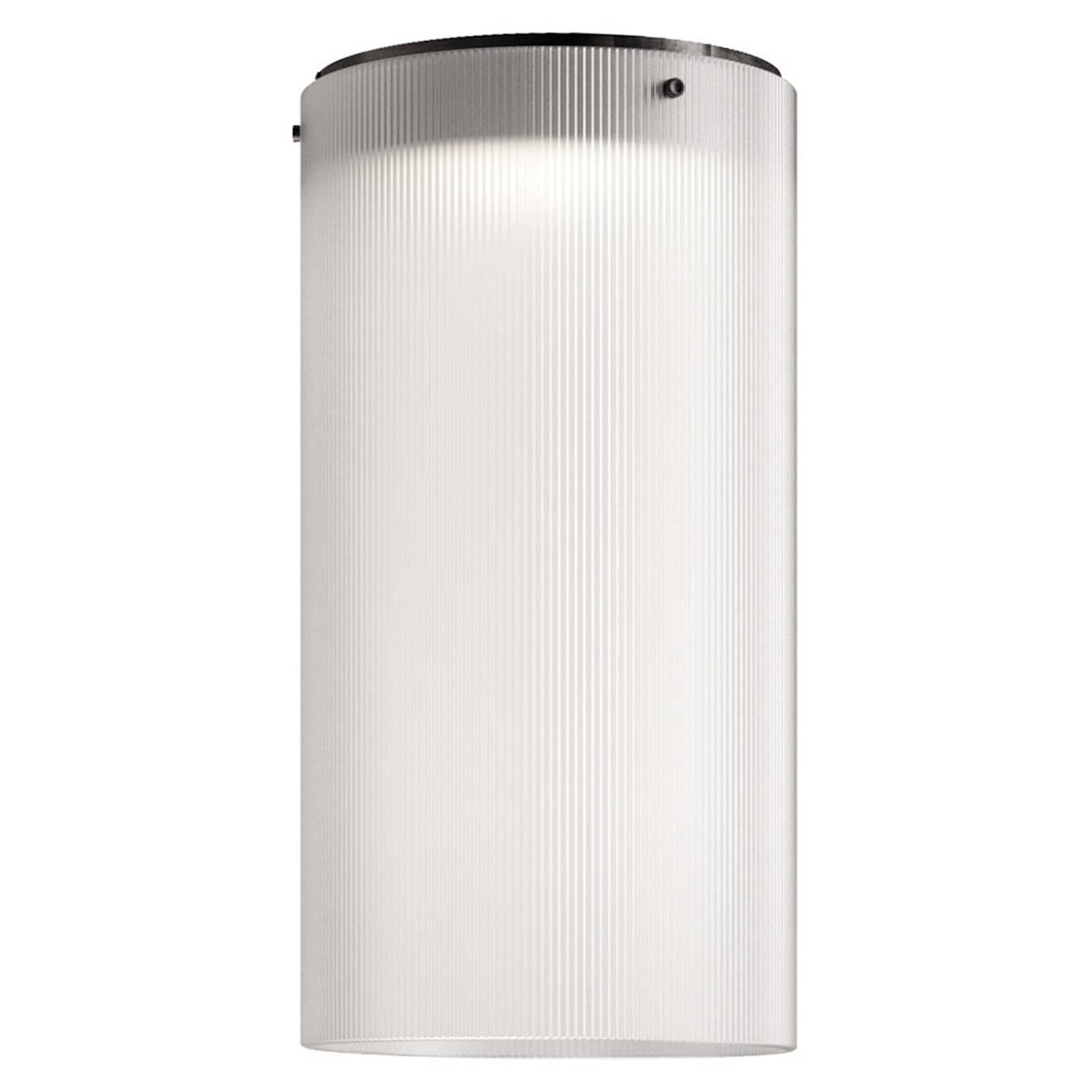 Kundalini Giass -LED-kattovalaisin Ø25cm valkoinen