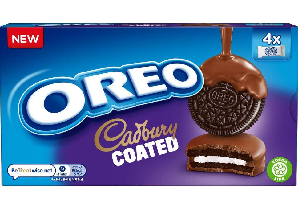 Oreo Cadbury Coated 164g