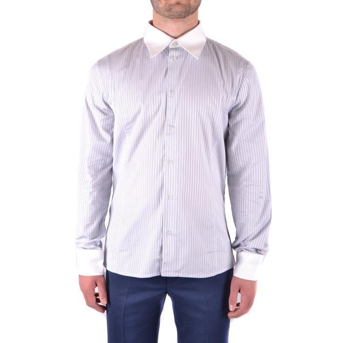 Bikkembergs Men's Shirt Blue 163226 - blue 42