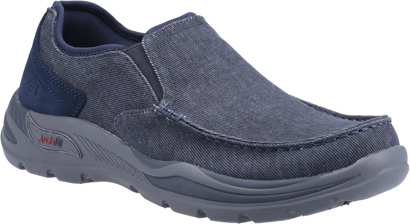 Skechers Men's Arch Fit Motley Rolens Casual Trainer Various Colours 32190 - Navy 6