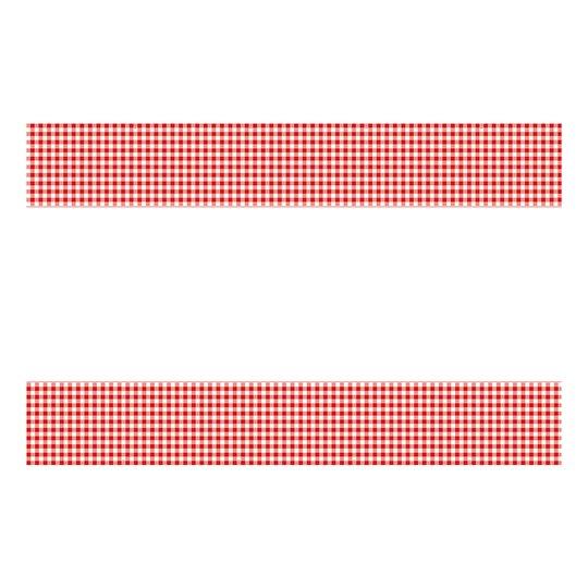 Bordsduk Röd/Rutig - 54X84 cm
