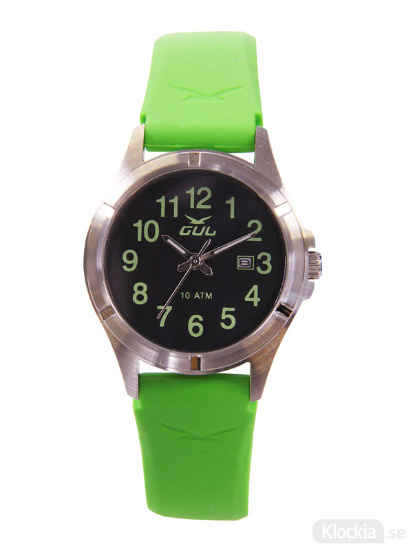 Barnklocka GUL Surf 32 Colorize Green 525013048