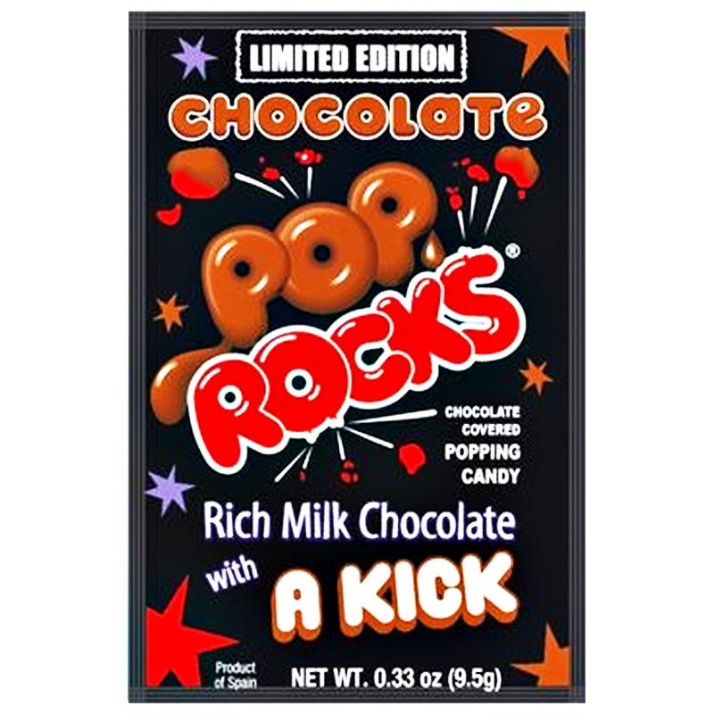 "Godis ""Pop Rocks Chocolate"" 9,5g - 70% rabatt"