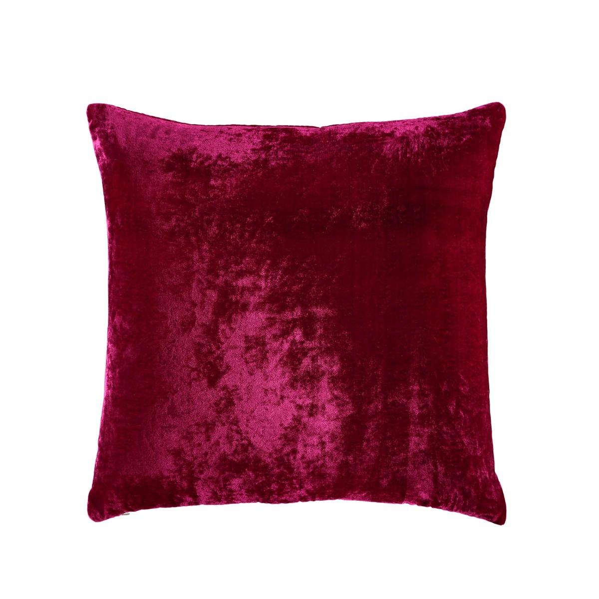William Yeoward  Paddy Velvet Cushion Fuchsia