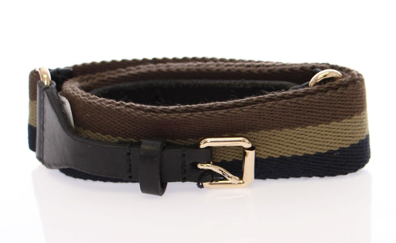 Dolce & Gabbana Women's Leather Logo Belt Multicolor BHD10527 - 90 cm / 36 Inches