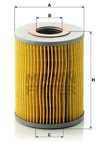 Öljynsuodatin MANN-FILTER H 1038 x