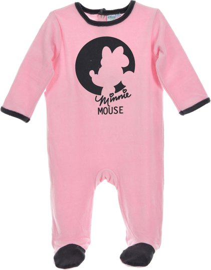 Disney Minni Mus Pyjamas, Light Pink 24mån