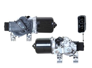 Pyyhkijän moottori, Edessä, RENAULT KANGOO / GRAND KANGOO, KANGOO BE BOP, KANGOO Express, 77 01 066 449, 7701066449