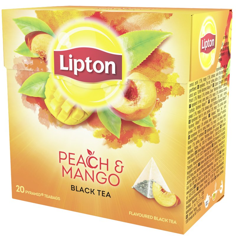 "Musta Tee ""Peach & Mango"" 36g - 60% alennus"
