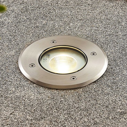 LED-lattiauppovalaisin Kari, pyöreä