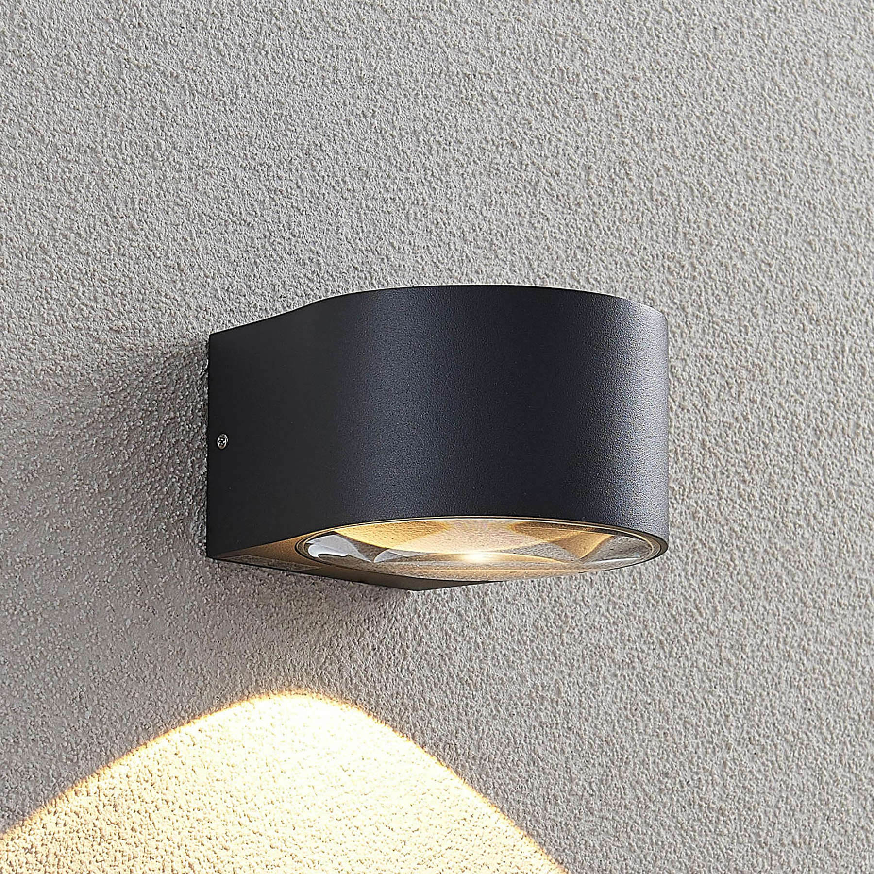 Lucande Astrida -LED-ulkoseinävalaisin, 1-lamp.