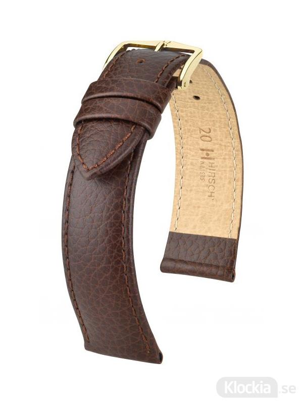 Hirsch Kansas 12mm Medium Brun/Guld 01502110-1-12