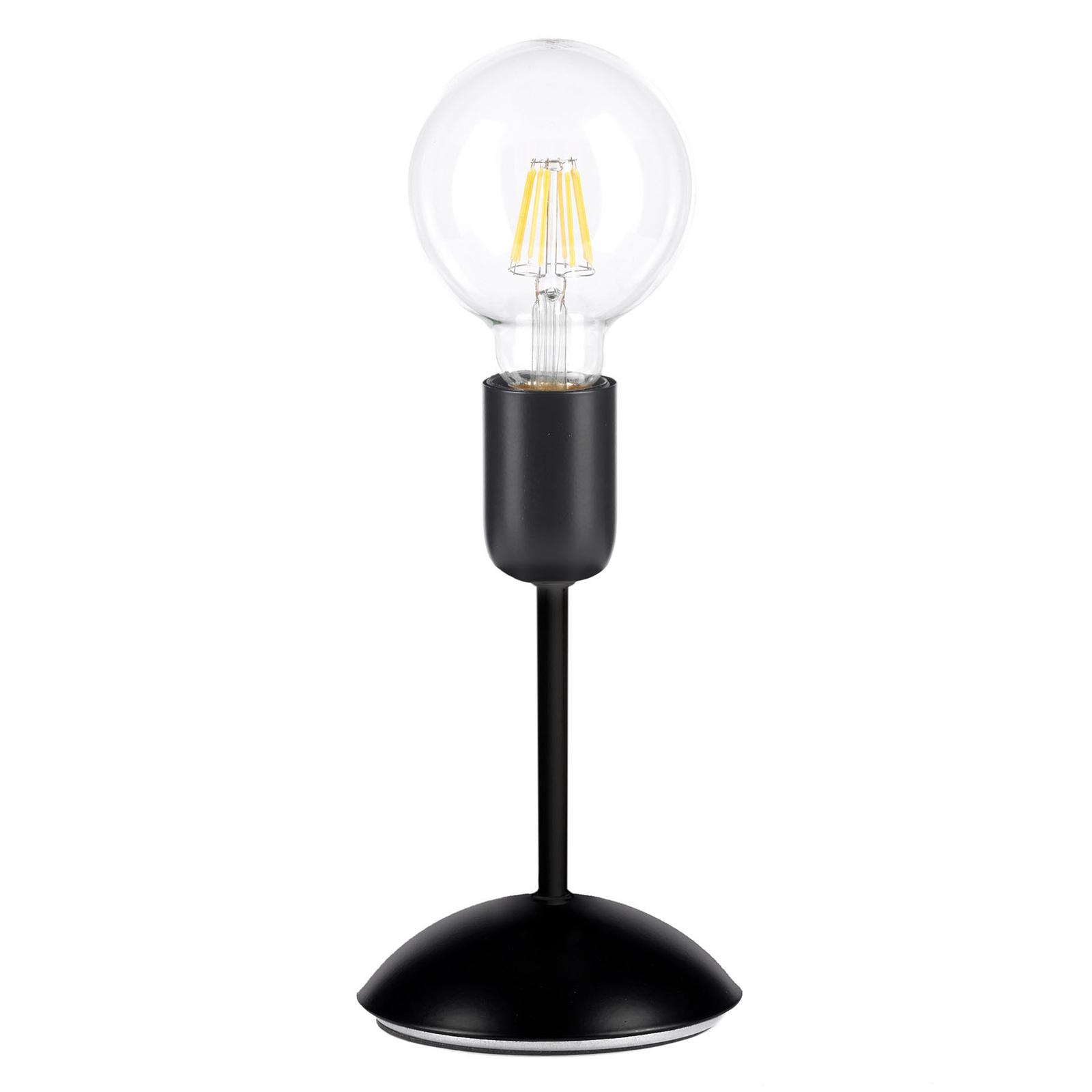 Pöytälamppu Mantis musta, 1-lamppuinen