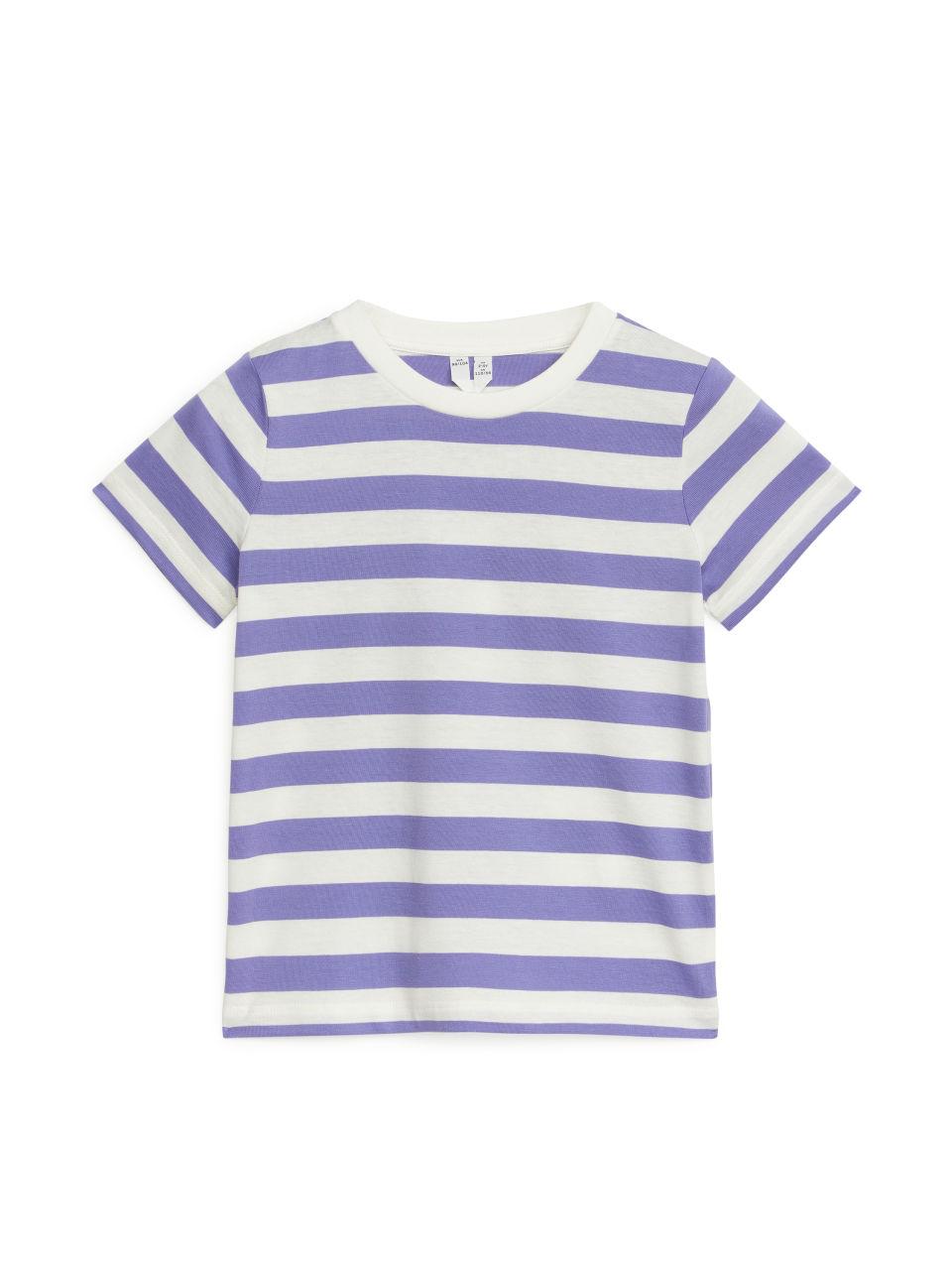 Striped T-Shirt - Purple