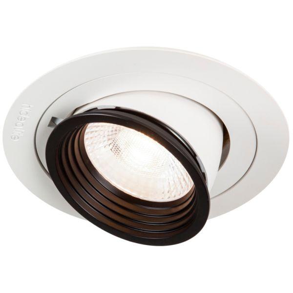 Hide-a-Lite Focus Point Maxi Downlight 24°, 4000 K OnOff, med ledningssett