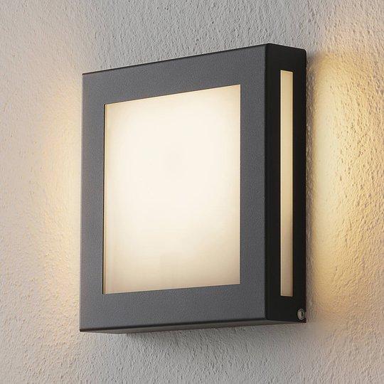 Sensor-LED-utelampe Aqua Legendo Mini, antrasitt