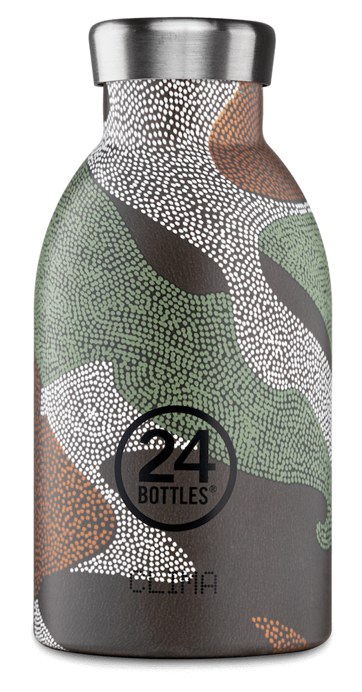 24 Bottles - Clima Bottle 0,33 L - Camo Zone (24B419)
