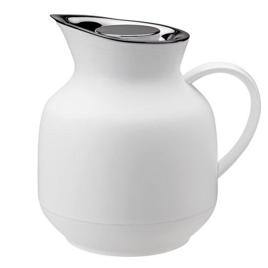 Stelton Amphora termoskanna 1 liter, te, soft white