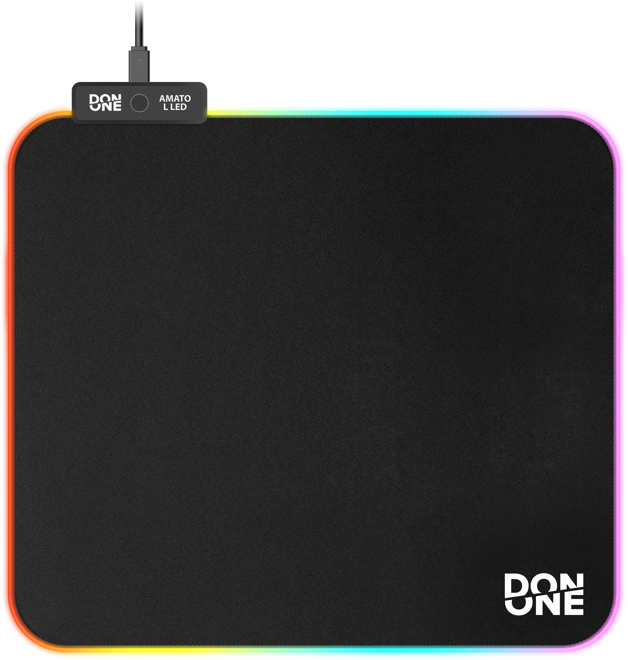 DON ONE - AMATO Mousepad LED Large L - Soft Surface (45 x 40 CM)