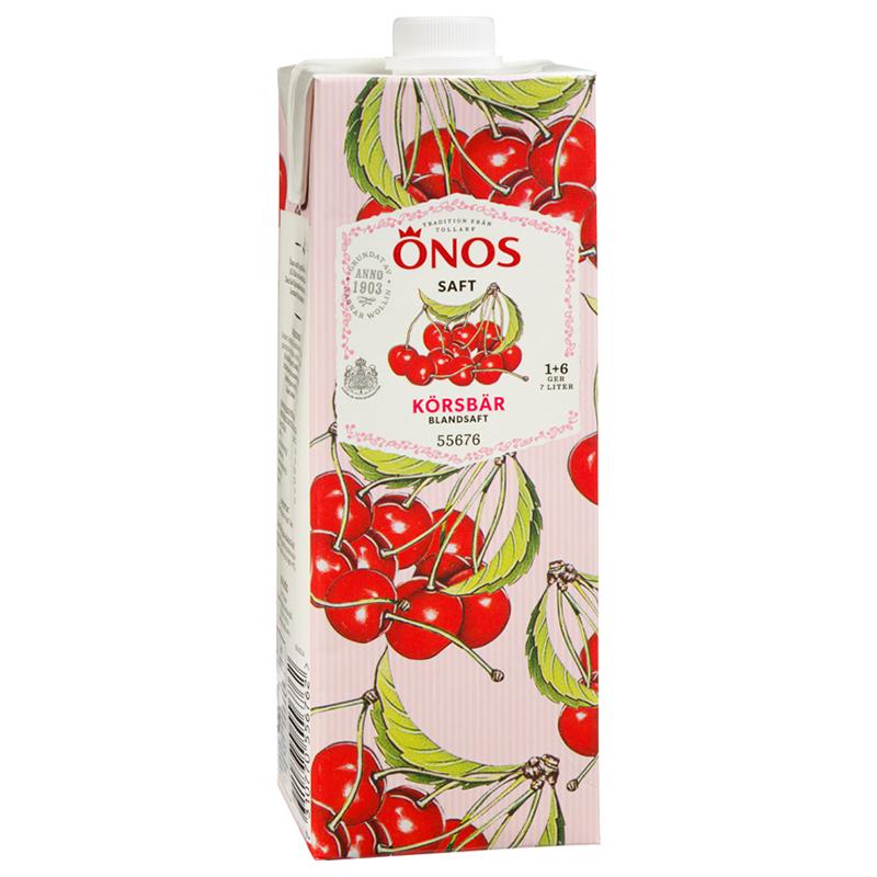 Dryck Körsbär Osötad 1l - 22% rabatt