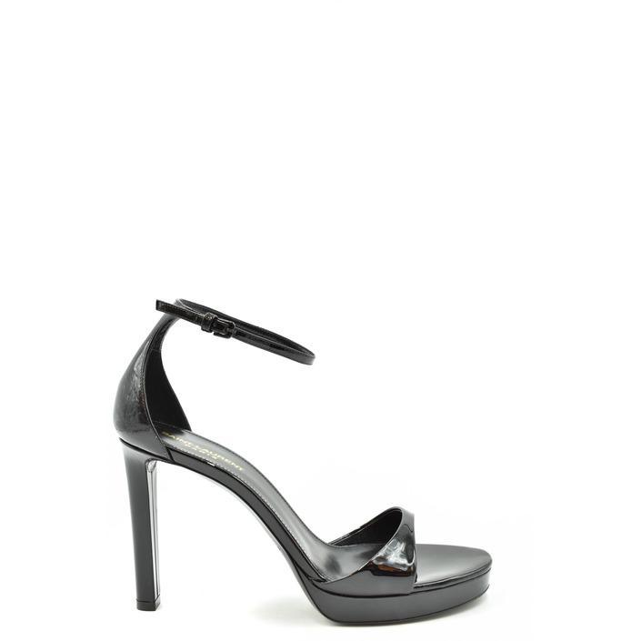 Saint Laurent Women's Sandal Black 179467 - black 37.5