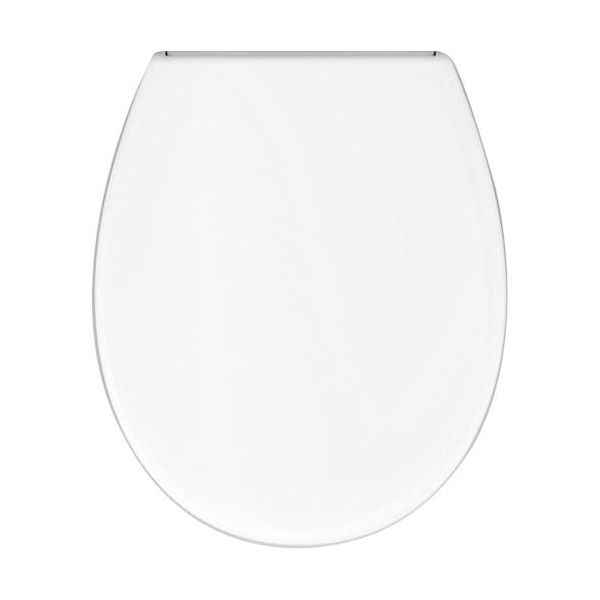 Adora 12402.20 Toalettsete hvit, soft close Universal, stillbare plastbeslag (120-180 mm)
