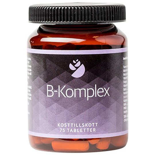 "Kosttillskott ""B-Komplex"" 75-pack - 42% rabatt"
