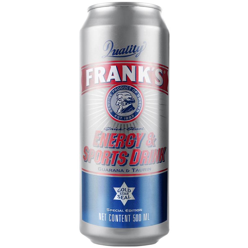 Energidryck Franks - 47% rabatt