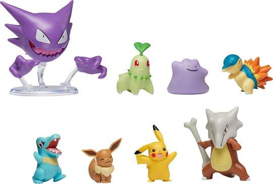 Pokémon Battle Figurer 8-pack