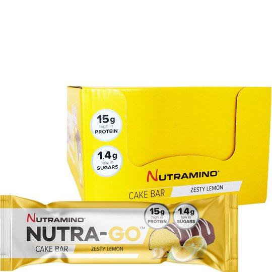 "Hel Låda Proteinbars ""Cake Zesty Lemon"" 12 x 57g - 69% rabatt"